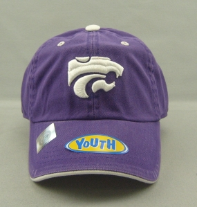 Kansas State Wildcats Youth Crew Adjustable Hat