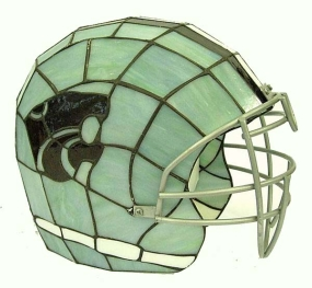 Kansas State Wildcats Glass Helmet Lamp