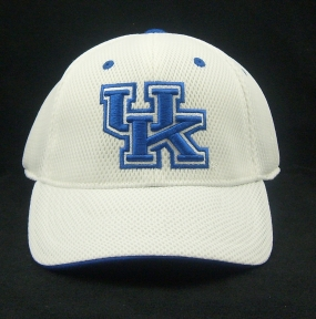 Kentucky Wildcats White Elite One Fit Hat
