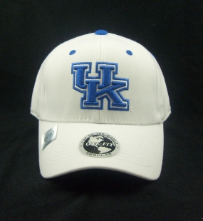 Kentucky Wildcats White One Fit Hat