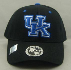 Kentucky Wildcats Black One Fit Hat