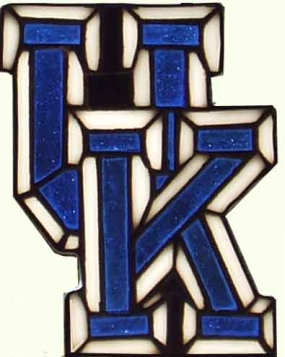 Kentucky Wildcats Suncatcher