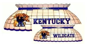 Kentucky Wildcats Pool Table Light