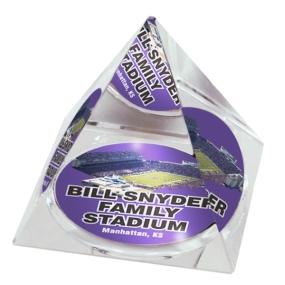 Kansas State Wildcats Crystal Pyramid
