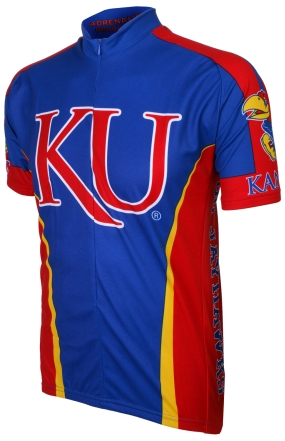 Kansas Jayhawks Cycling Jersey
