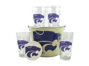 Kansas State Wildcats Gift Bucket Set