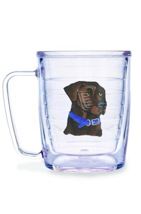 DOGS-CHOCOLATE LAB MUG