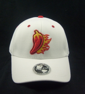 UL Lafayette Ragin Cajuns White One Fit Hat