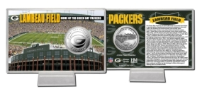 Lambeau Field Silver Coin Card