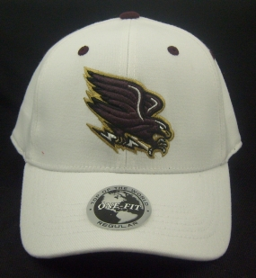 UL Monroe Warhawks White One Fit Hat