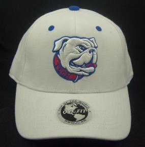 Louisiana Tech Bulldogs White One Fit Hat