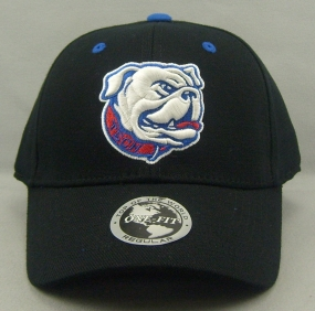 Louisiana Tech Bulldogs Black One Fit Hat
