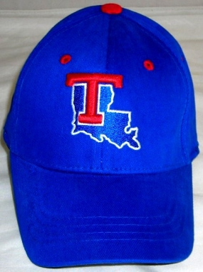 Louisiana Tech Bulldogs Youth Team Color One Fit Hat