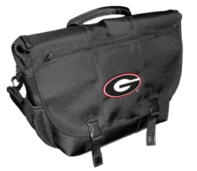 Georgia Bulldogs Laptop Messenger Bag