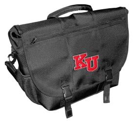 Kansas Jayhawks Laptop Messenger Bag