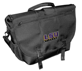 LSU Tigers Laptop Messenger Bag