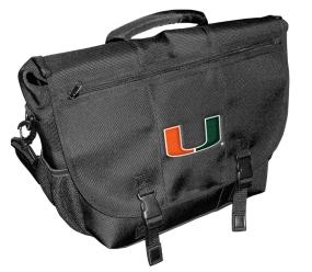 Miami Hurricanes Laptop Messenger Bag