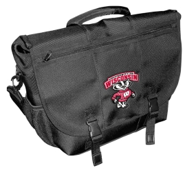Wisconsin Badgers Laptop Messenger Bag