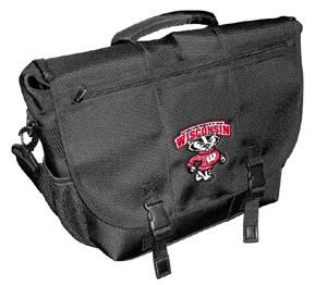 Rhinotronix Wisconsin Badgers Laptop Bag