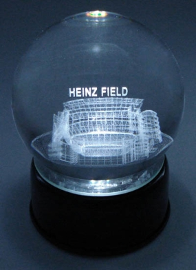 HEINZ FIELD ETCHED IN CRYSTAL