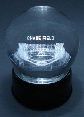 CHASE FIELD ETCHED IN CRYSTAL