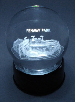 FENWAY PARK ETCHED IN CRYSTAL