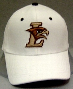 Lehigh Mountain Hawks White One Fit Hat