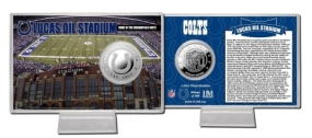 Lucas Oil Field Silver Coin Card