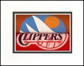Los Angeles Clippers Vintage T-Shirt Sports Art