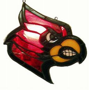 Louisville Cardinals Suncatcher