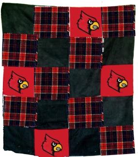 Louisville Cardinals Quilt