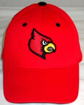 Louisville Cardinals Youth Team Color One Fit Hat