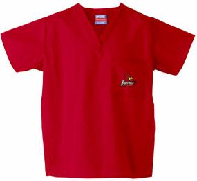 Louisville Cardinals Scrub Top
