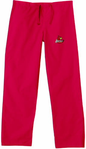 Louisville Cardinals Scrub Pants