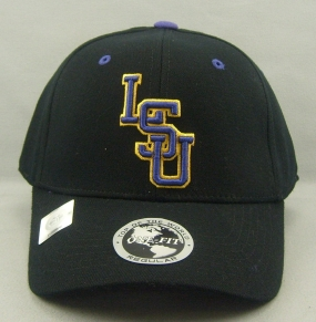LSU Tigers Black One Fit Hat