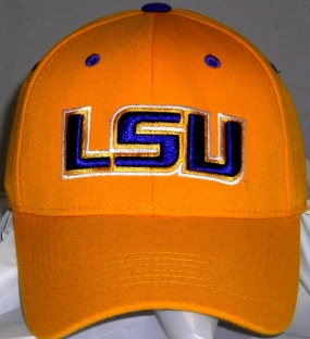 LSU Tigers Team Color One Fit Hat