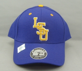 LSU Tigers Dynasty Fitted Hat