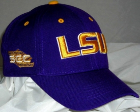 LSU Tigers Adjustable Hat
