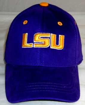 LSU Tigers Youth Team Color One Fit Hat