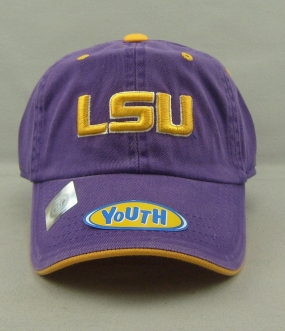 LSU Tigers Youth Crew Adjustable Hat