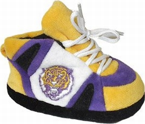 LSU Tigers Baby Slippers