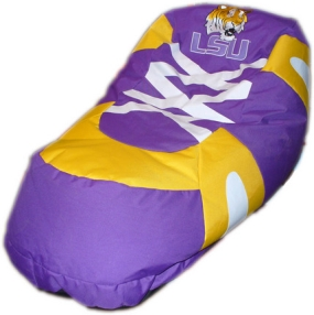 LSU Tigers Bean Bag Boot Slipper Chair
