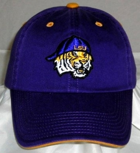 LSU Tigers Adjustable Crew Hat