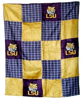 LSU Tigers Quilt