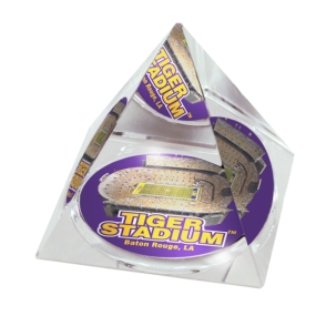 LSU Tigers Crystal Pyramid