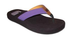 LSU Tigers Flip Flop Sandals