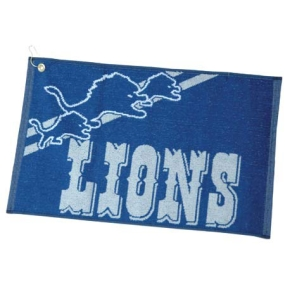 Detroit Lions Jacquard Golf Towel