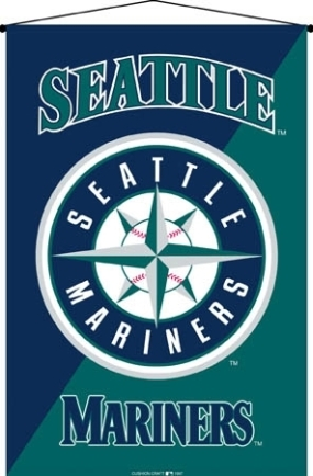 Seattle Mariners Wall Hanging