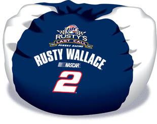Rusty Wallace Bean Bag Chair