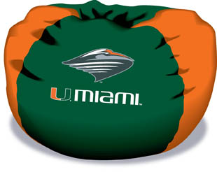 Miami Hurricanes Bean Bag Chair